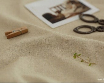 Linen Fabric Natural By The Yard