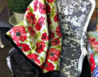 Custom Quilt Blanket Throw Large Bespoke Floppy Fur Snuggle