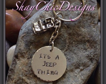 Its a jeep thing keychain