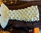 Mermaid Tail Blanket PATTERN ONLY