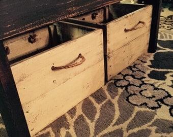 Stoarge box/Craft storage/Farmhouse bins/Wood storage box/Toy box/Storage bins