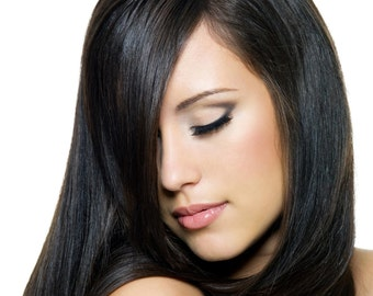 Henna Hair Color & Conditioner NATURAL BLACK Certified Organic Vegan Henna Hair Dye Kit: 100 % Natural Hair Color