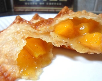 Fried Fruit Pies/fresh baked/homemade/edible baby shower favors/edible wedding favors/edible gifts