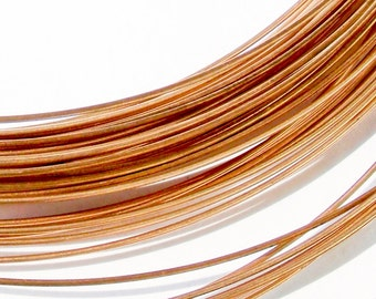 3 Meters Solid Bronze Wire in 20 Gauge, Bronze Wire, Jewelry Supplies, Chainmail Supplies, Wire Wrapping, Craft Supplies