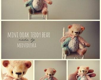 Artist mini teddy  Pattern by Medveduska