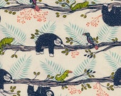 Honeymoon by Sarah Watts for Cotton & Steel - Lazy Day in Neutral Blue {PRE-ORDER} Fabric | Quilting, Sewing, Home Decor supplies