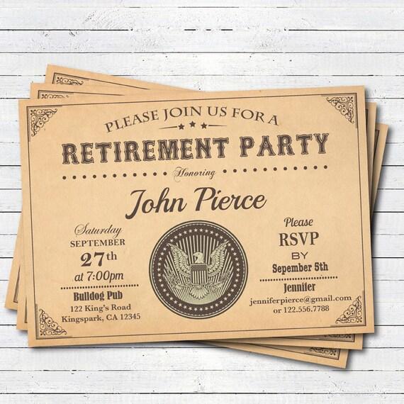 pensionierung einladung. jahrgang zertifikat ruhestand feier., Einladung