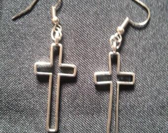 Cross, Crucifix Earrings