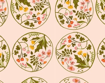 Tiger Lily - Wreaths Blush - Heather Ross - Windham (40928-4)