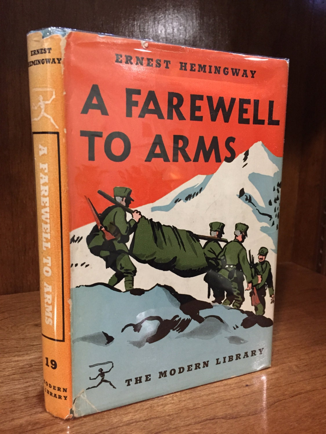 a review of ernest hemingways a farewell to arms A farewell to arms by ernest hemingway, 9780099273974, available at book depository with free delivery worldwide.