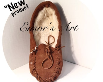 """Handmade Mens and Womens Moccasins rabbit fur and suede unisex slippers """" Limited Time Sale 70.00 Now only 65.00 :) kids and babys sizes ask"""