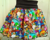 Super Mario Bros. skirt/babydoll shirt Super Smash Nintendo