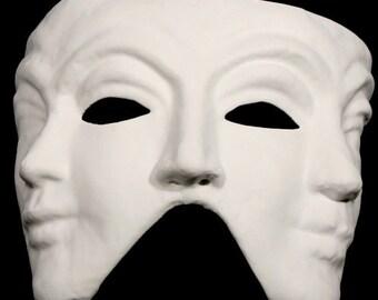 Paintable Triple Face Mask
