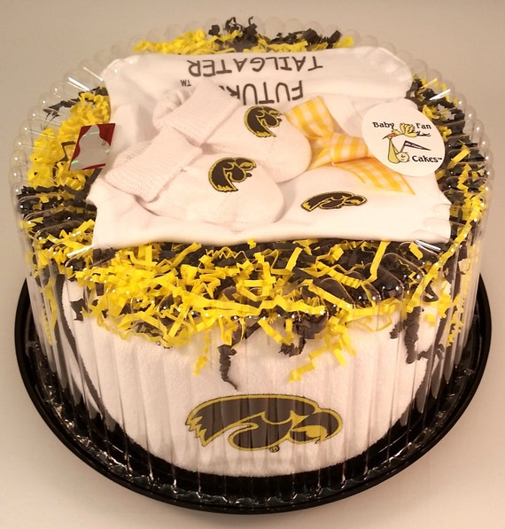 Iowa Hawkeye Baby Clothing Gift Set by FutureTailgater on Etsy