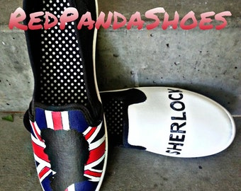 Sherlock Slip On Shoes