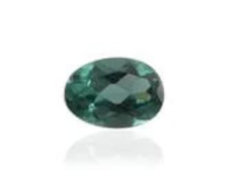 Ocean Blue Apatite Oval Cut Loose Gemstone 1A Quality 6x4mm TGW 0.40 cts.