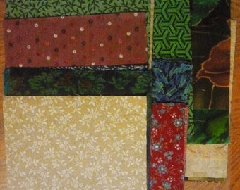 """Charm Squares; 5"""" Cotton Fabric Squares - Package of 25; Ready to Ship"""