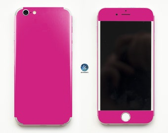 So Pink! iPhone Skin iPhone decal iPhone sticker for iPhone 4, iPhone 4s, iPhone 5, iPhone 5s and iPhone 6 Pink Rose Pinkish Pinky