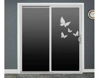 Sliding Door Decals Etsy - Window decals for birds canada