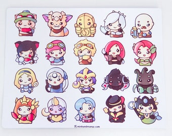 League of Babies Stickers