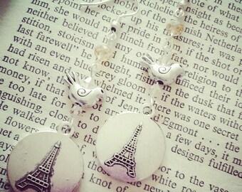 Paris themed Earrings