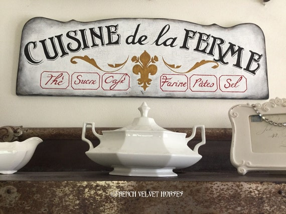 Graphics Fairy Featured French Farm Kitchen By