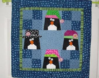 Penguin Table Topper Pattern