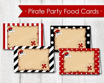 Pirate Food Tents - Instant Download