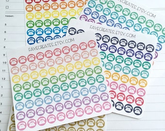 Phone stickers for Day Designer and other planners