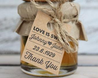 mini jam jar wedding favours bonbonniere favors