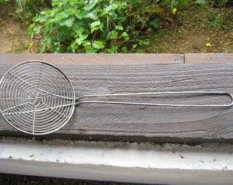 French Vintage Wire Skimmer.