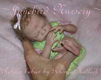 Custom Reborn Micro Preemie Baby boy or girl ~ Made to order~Marita Winters' Zachy 10 inches