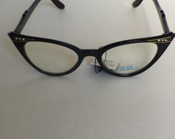 Vintage fashion eyeglasses