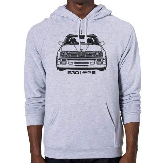 bmw e30 m3 graphic m nner american apparel pullover hoodie. Black Bedroom Furniture Sets. Home Design Ideas