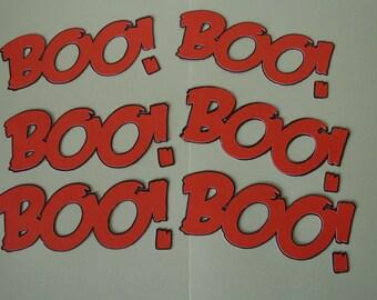 boo paper word halloween