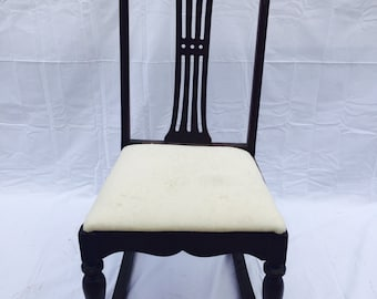 Gorgeous Vintage Rocking Chair
