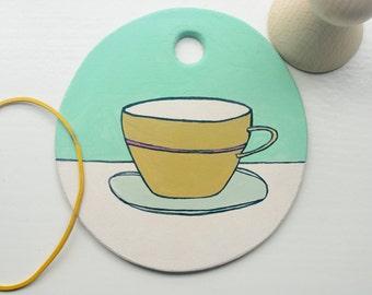 wandhanger kopje, wall hanger cup, Wand Aufhänger Tasse