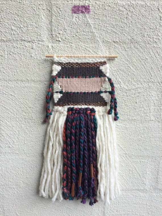 Small woven wall hanging