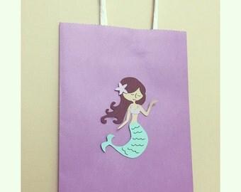 Mermaid Favor Bag