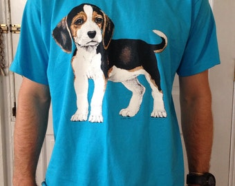 Puppy Dog - Beagle - Vintage Shirt