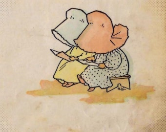 Sunbonnet babies going to school book 1905 download