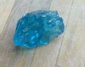 Luminescent Blue Saphire Andara Crystal