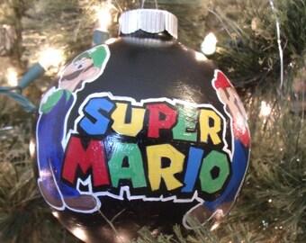 Super Mario Christmas Ornament