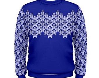 Star Wars Sweatshirt, R2-D2 Sweatshirt, Artoo Sweatshirt, Star Wars Jumper, R2D2 Jumper, Artoo Jumper