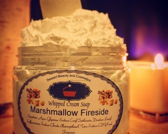 Whipped Cream Soap Marshmallow Fireside