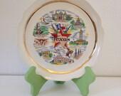 Vintage Souvenir Plate - Texas