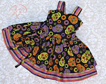 Childrens Halloween Dress Size 4T