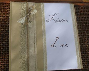 Range |mariage dentelle| guestbook