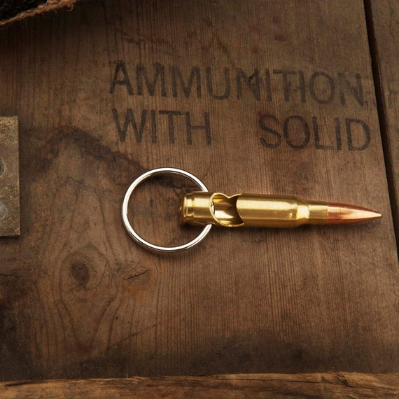 308 bullet bottle opener keychain made with a real by luckyshotusa. Black Bedroom Furniture Sets. Home Design Ideas
