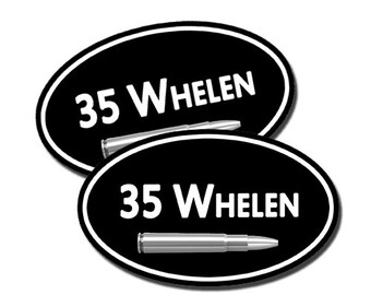Stickers for your Ammo Cans! 2-Pack of 35 Whelen  Keep your target practice ammo organized!